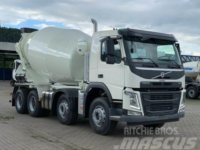 Volvo FM12 410 8x4 /EuromixMTP EM 10m³ ( 37ton)