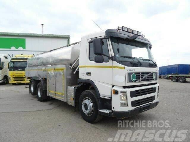 Volvo FM13.440 MILK tank for food6x2,manual,E4,vin 950