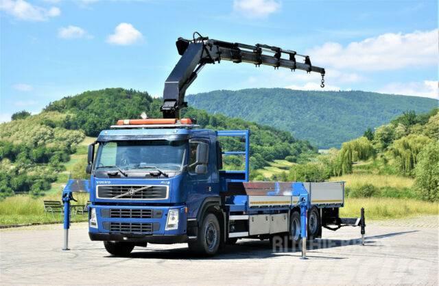 Volvo FM9 340 Pritsche 7,20m +HMF 2820 K5 + FUNK