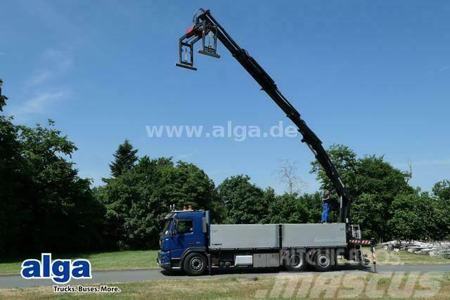 Volvo FMX 380 6x2, Kran Hian 211DL-3 Pro, Lenk-Lift