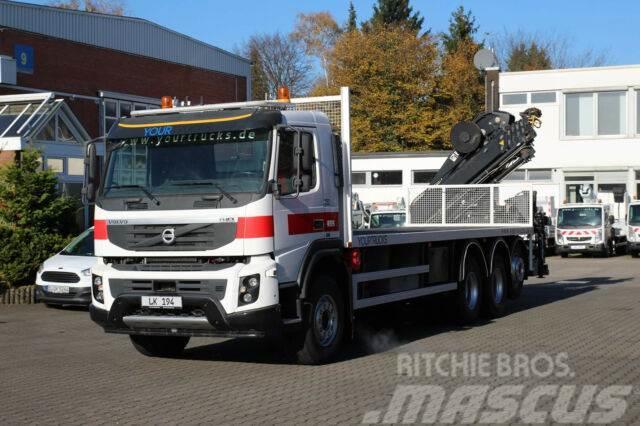 Volvo FMX 410 8x4 VEB+/Plattform 8m/Kran Hiab 15m/Funk