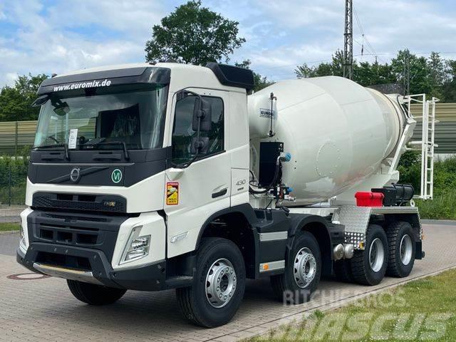 Volvo FMX 430 8x4 / EuroMix MTP 9 L