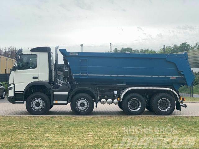 Volvo FMX 430 8x4 / EuroMix MTP Mulden Kipper