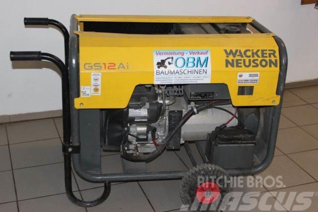 Wacker Generator GS 12 AI - Notstrom-Aggregat