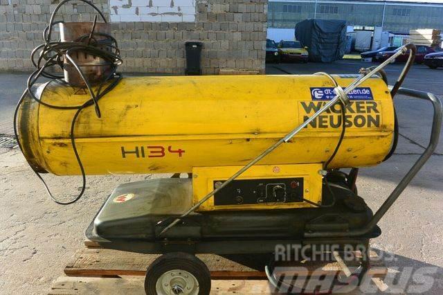 Wacker Öl Diesel Heizung HI 34 mit Zubehör
