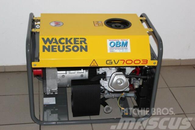 Wacker Stromaggregat Generator GV 7003A