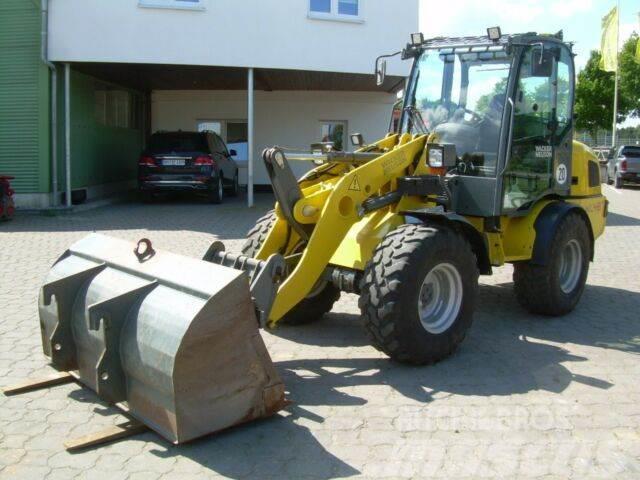 Wacker WL 48, BJ 14, 1100 BH, hydr. SW, Schaufel, Gabel