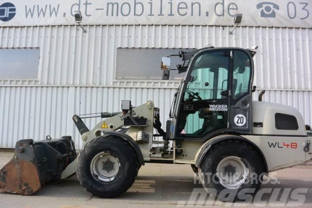 Wacker WL 48 Klappschaufel & Palettengabel Breitreife