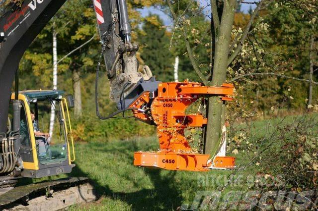 Westtech Woodcracker C450 Fällgreifer Baumschere