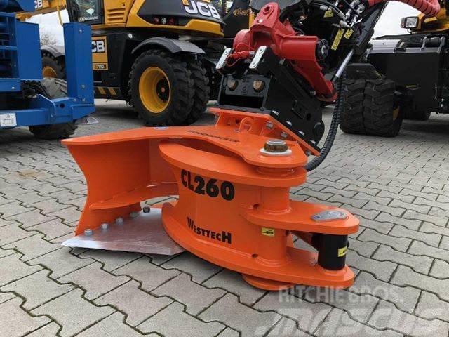 Westtech Woodcracker CL260 Fällkopf Fällgreifer