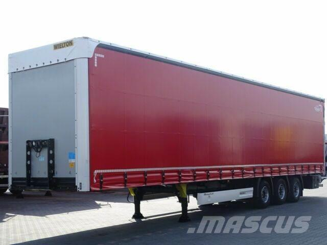 Wielton CURTAINSIDER/MEGA /LOW DECK/LIFTED AXLE & ROOF