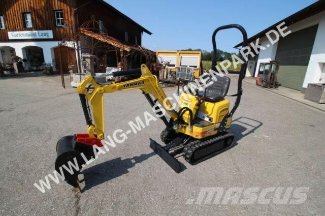 yanmar sv 08 1 inkl loffelset microbagger minibagger. Black Bedroom Furniture Sets. Home Design Ideas