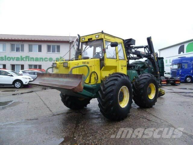 Zetor LKT82 forestry tractor with crane 4x4 vin 003