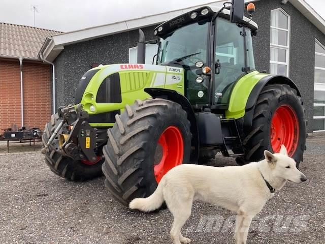 CLAAS ARION 640 CEBIS AFF. FORAKSEL, FRONTLIFT, FRONT PT