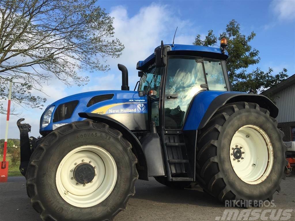 New Holland TVT190