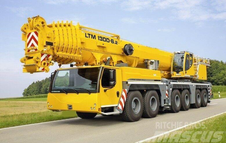 Liebherr LTM 1300-6.2, model 2019,Tier4 final, 2-Winch