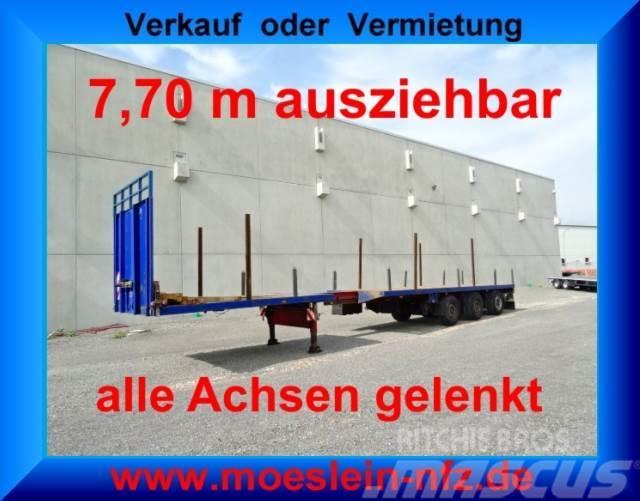 Doll 3 Achs Tele Auflieger, ausziehbar bis 21,30 m, ge