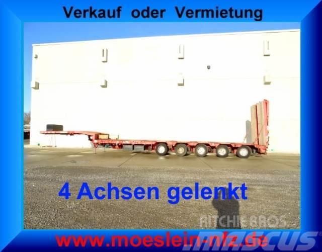 Goldhofer 5 Achs Satteltieflader, gelenkt