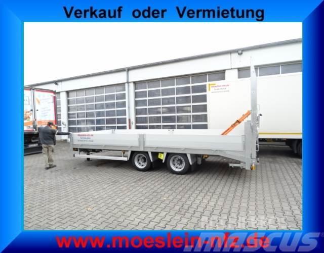 Möslein 14,4 t Tandemtieflader mit breiten Rampen