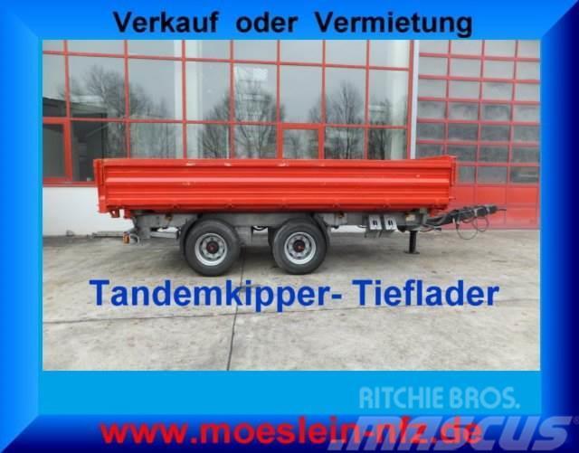 Möslein 19 t Tandemkipper Tieflader