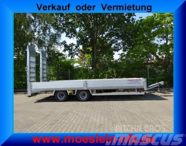 Möslein 19 t Tandemtieflader mit ABS, Luftgefedert