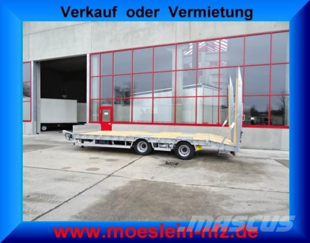 Möslein 21 t Tandemtieflader mit ABS, Luftgefedert