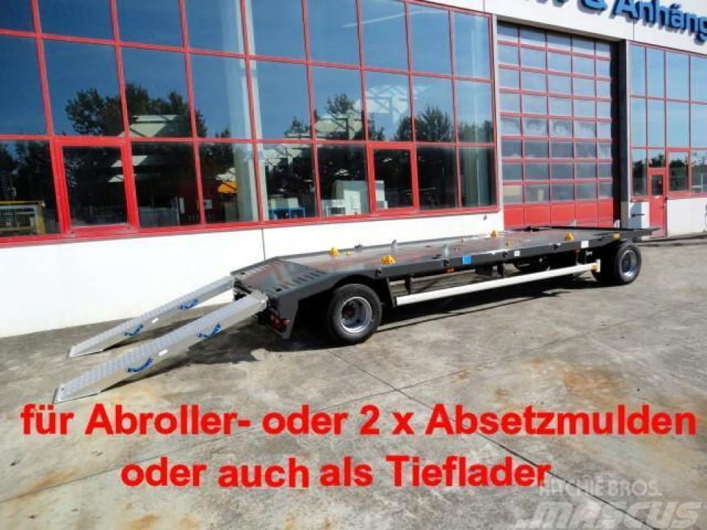Möslein MCAF 2 2 Achs Kombi- Tieflader- Anhänger fürAbrol