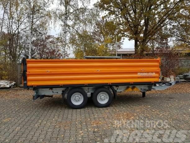 Möslein neuer 13 t Kipper Tieflader Aufsatz Bordwände