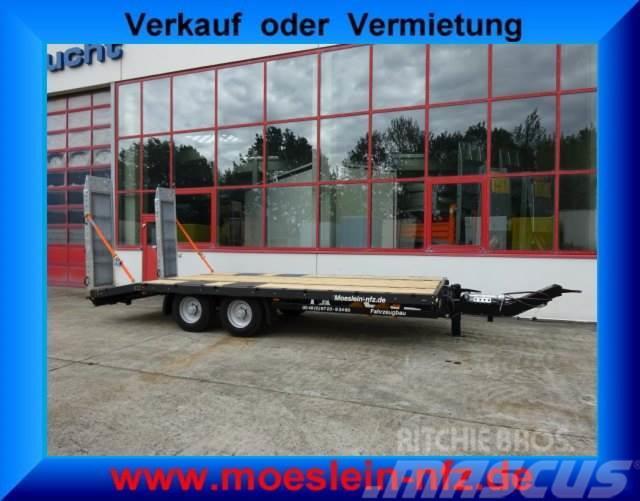 Möslein Neuer Tandemtieflader, 6,28 m Ladefläche