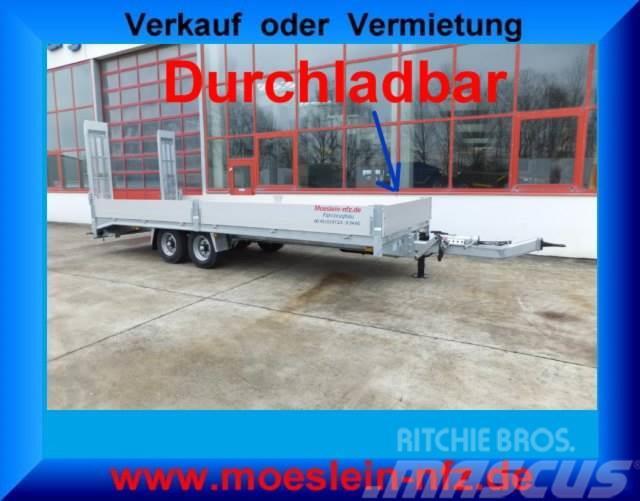 Möslein Neuer Tandemtieflader, 7,28 m Ladefläche