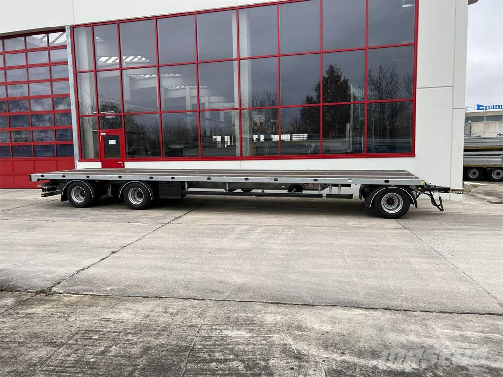 Möslein T 3 Plato 10,5 m 3 Achs Jumbo- Plato- Anhänger 10
