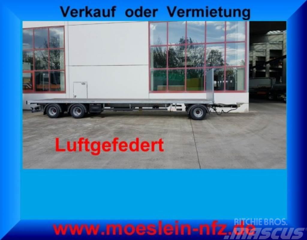 Möslein T 3 Plato 10 m 3 Achs Jumbo- Plato- Anhänger 10 m