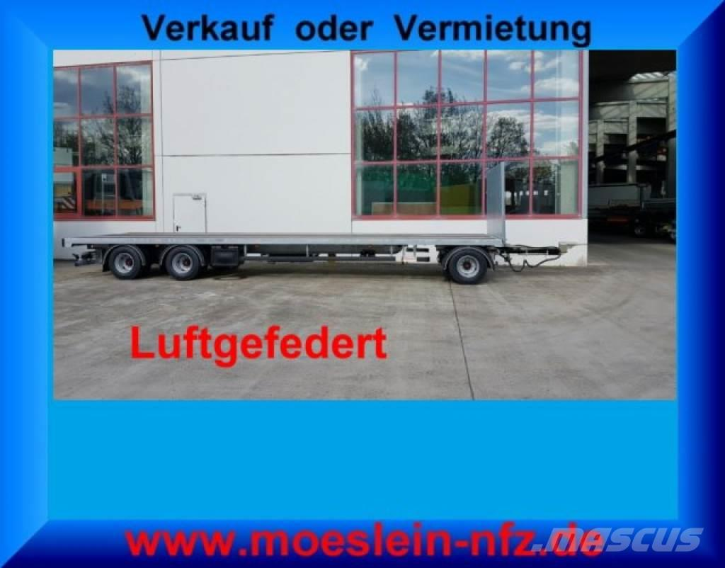 Möslein T 3 Plato 8,6 m 3 Achs Jumbo- Plato- Anhänger 8,6