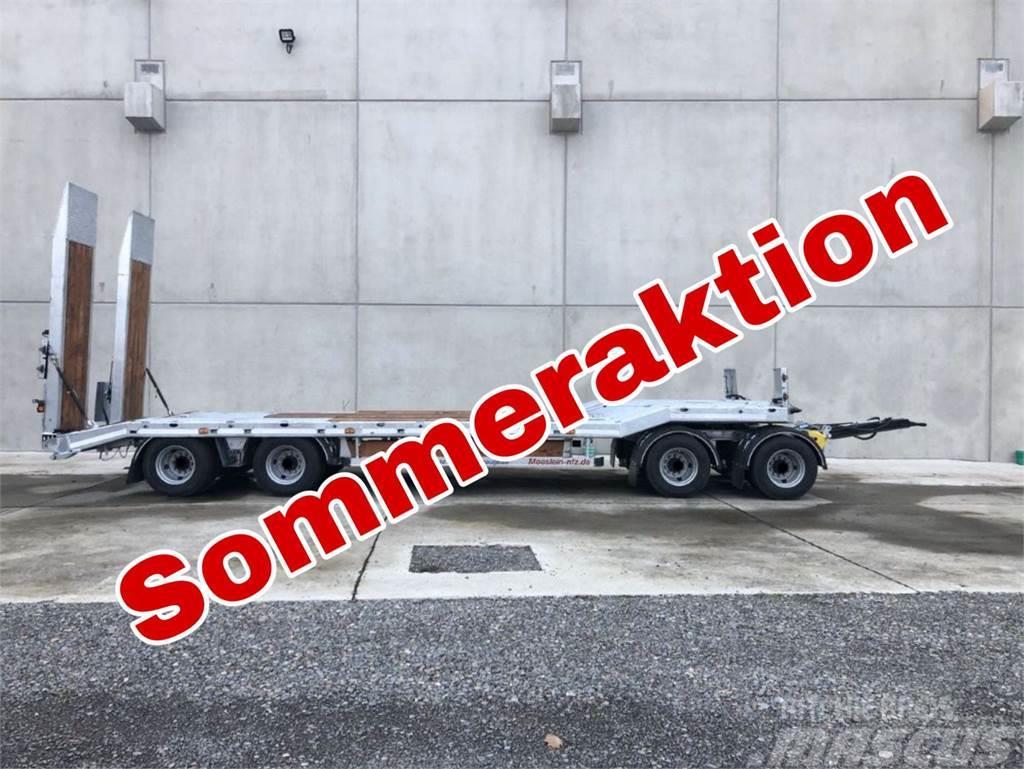 Möslein T 4 VB H1 4 Achs Tieflader- Anhänger, Neufahrzeug