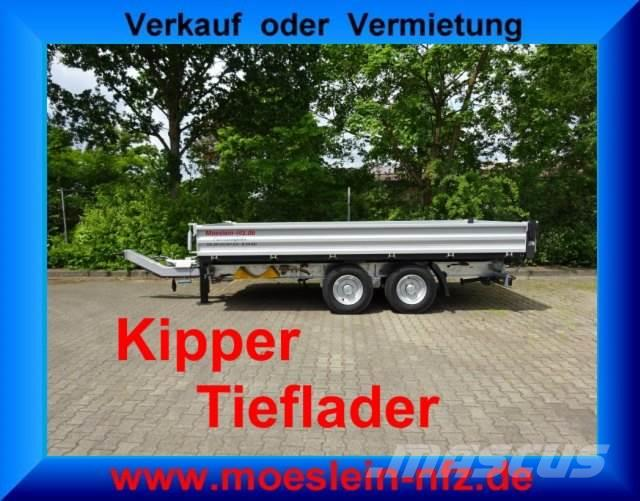 Möslein Tandem Kipper Tieflader Neufahrzeug