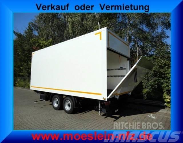Möslein Tandem Koffer mit Ladebordwand 1,5 t