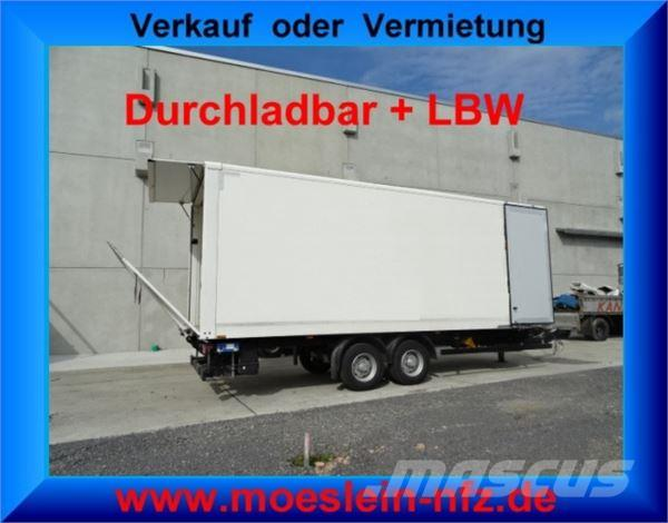 Möslein Tandemkoffer Durchladbar + Ladebordwand ca. 1.500