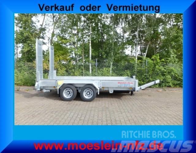 Möslein Tandemtieflader, Fahrgestell und Aufbau Feuerverzi