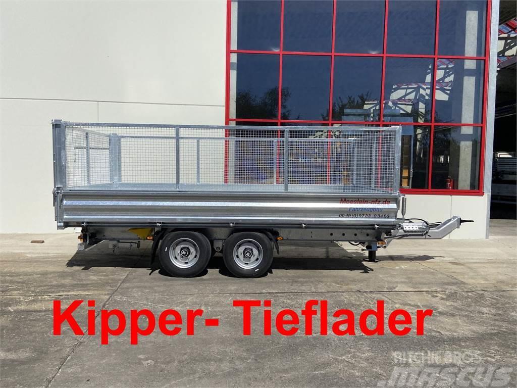 Möslein TDS 11 Gitteraufsatz Tandem 3- Seitenkipper Tiefl