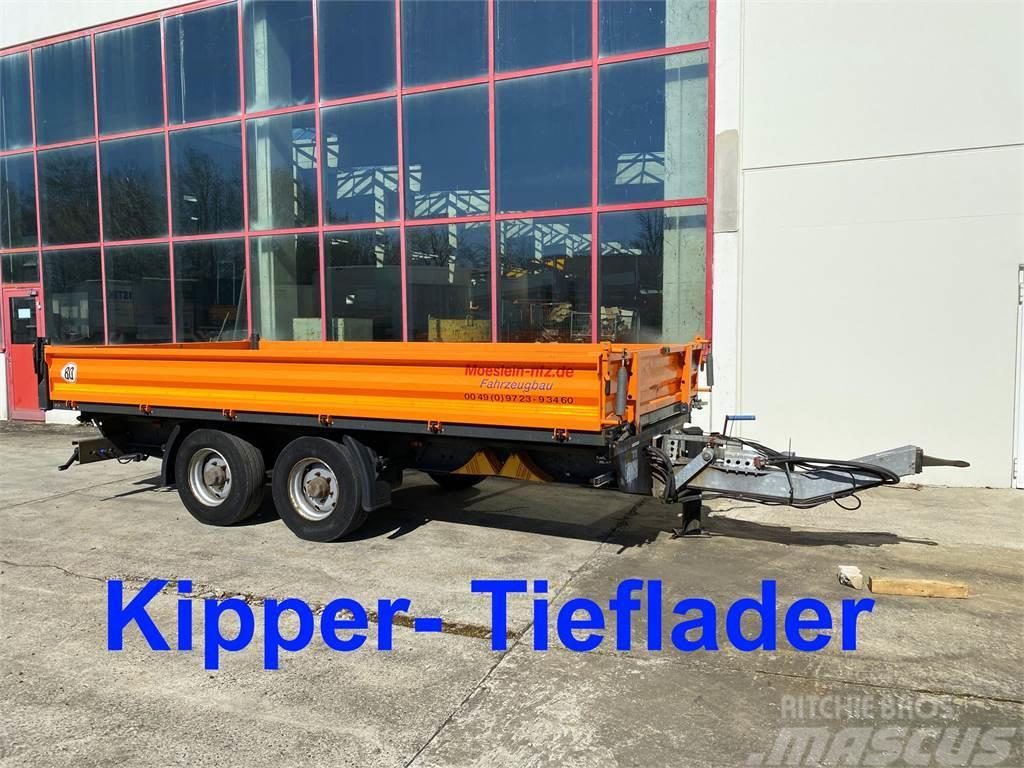 Möslein TDS Schwebheim 13 t Tandemkipper- Tieflader