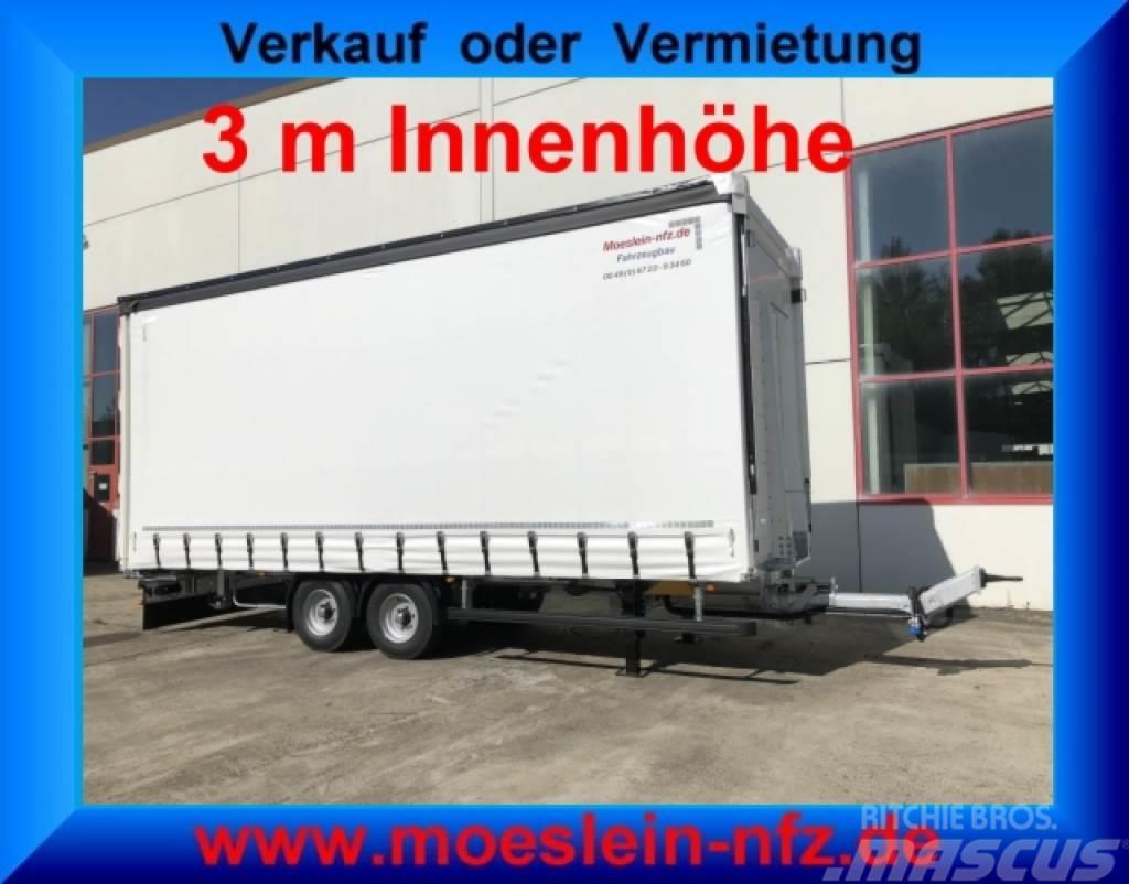 Möslein TP 11-3 Tandem- Schiebeplanenanhänger 3 m Innenhö