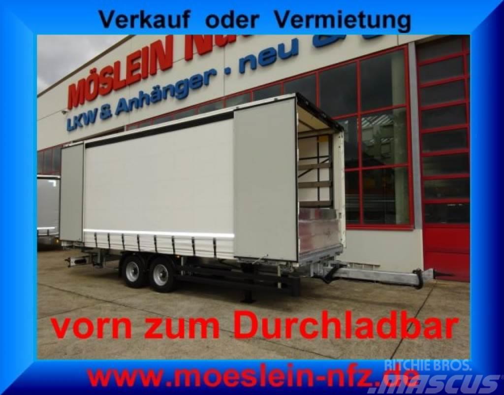 Möslein TPW 105 D 7,30 Tandem- Schiebeplanenanhänger, Dur
