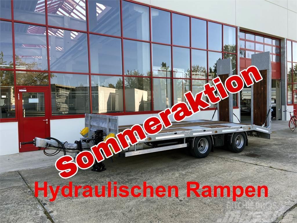 Möslein TT21-6,5 hydr 21 t Tandemtieflader, Luftgefedert,
