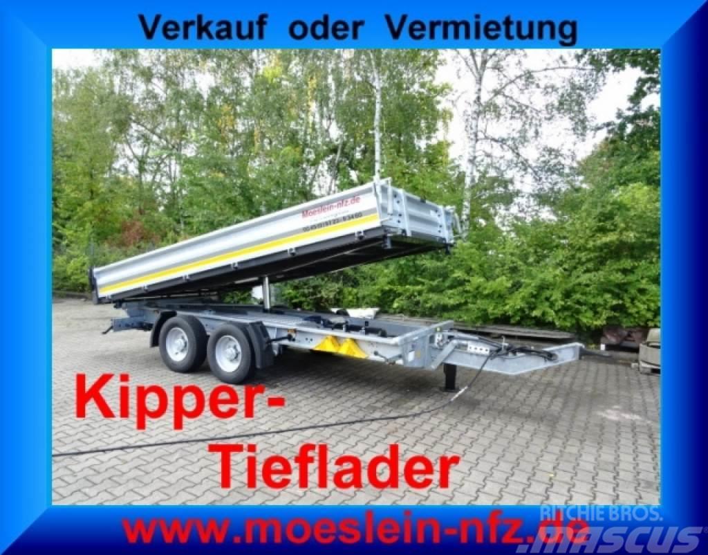 Möslein TTD 13 Verzinkt 13 t Tandem 3- Seitenkipper Tiefl