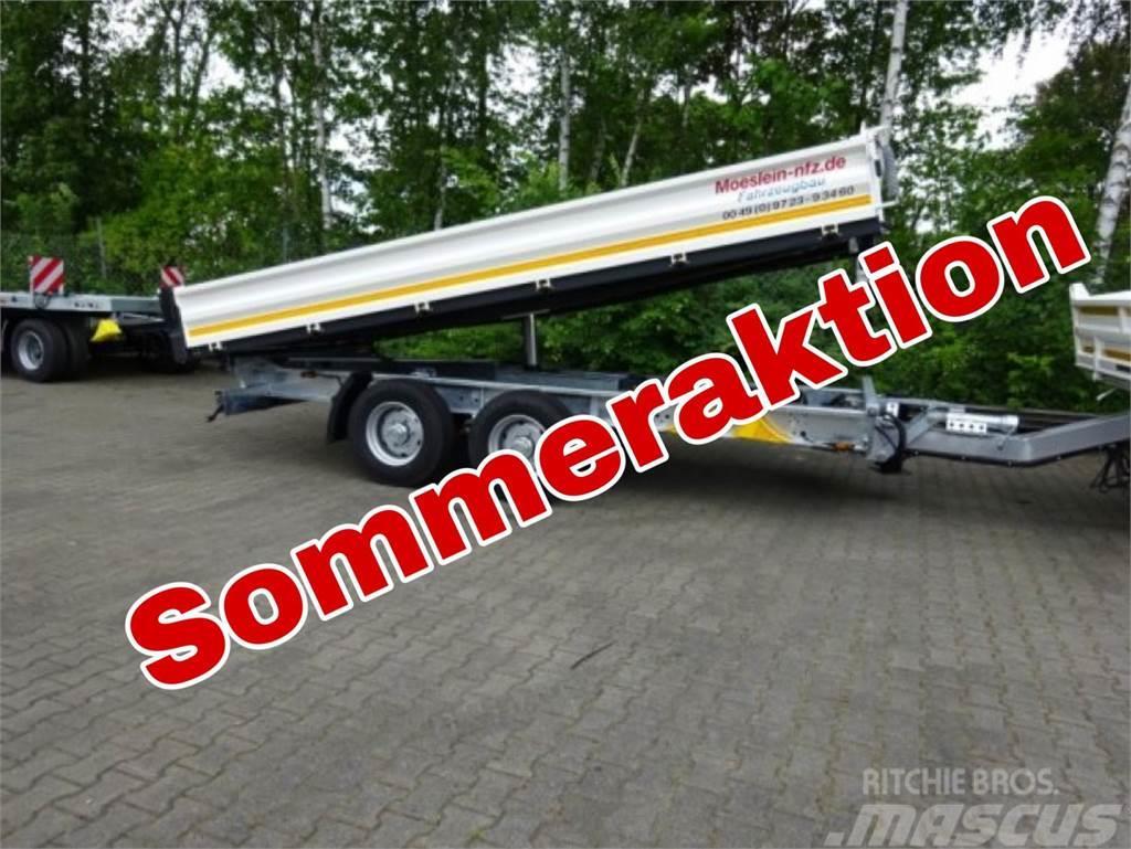 Möslein TTD 13 Weiß 13 t Tandem 3- Seitenkipper Tieflader