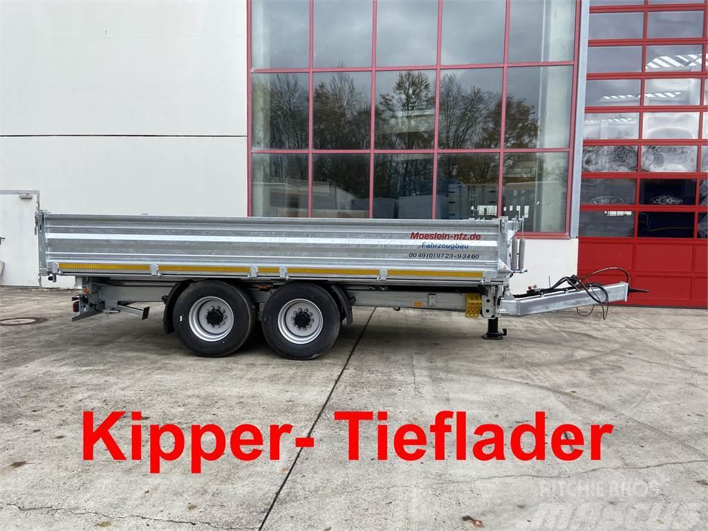 Möslein TTD 14 Schwebheim 14 t Tandem- 3 Seiten- Kipper T