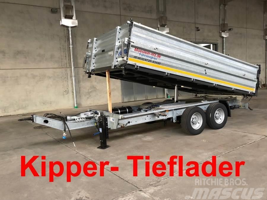 Möslein TTD11- BA Verzinkt Tandem Kipper Tiefladermit Bor