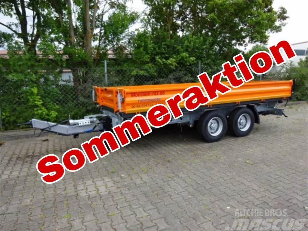Möslein TTD11 Orange Tandem Kipper Tieflader-- Neufahrzeu
