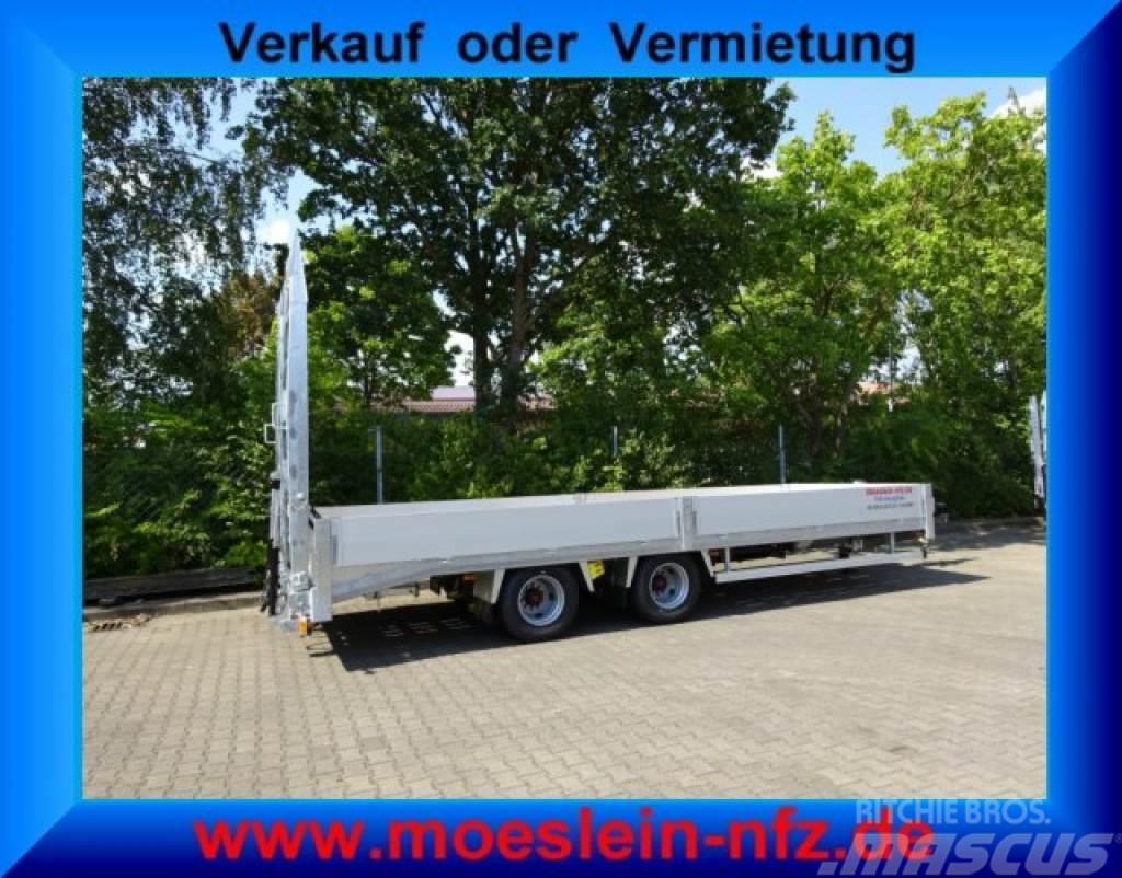 Möslein TTO 19-6,5 Hy 19 t Tandemtieflader, hydr. Rampen-