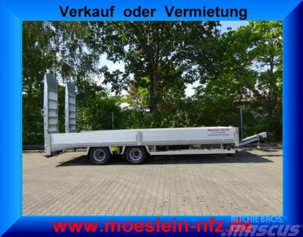 Möslein TTO 19-7,2 Hy 19 t Tandemtieflader, hydr. Rampen-